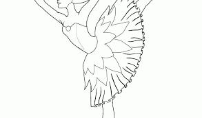 Disegni Da Colorare Ballerine Con Immagini Da Disegnare Difficili E