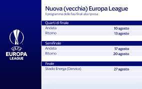 Champions League ed Europa League: calendario nel piano Uefa per ripartire