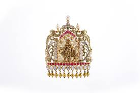 Krishna Pendant Designs In Gold Antique Design Gold And Diamond Lord Krishna Pendant