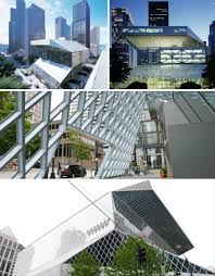 deconstructive architecture. OMA/Rem Koolhaas\u0027 Seattle Central Library, Washington Deconstructive Architecture