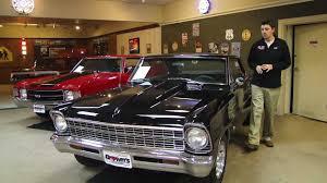 1967 Chevy II Nova Black For Sale! - YouTube
