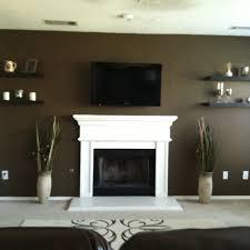 fireplace shelves decorating ideas elegant floating