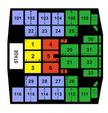 Turning Stone Seating Chart Turning Stone Casino Event Center Seating Chart