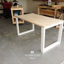 image of williamsburg study table plywood inspiration of diy conference table