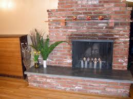 Cleaning Brick Fireplace Front