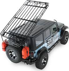 garvin 44074 wilderness expedition rack for 07 18 jeep wrangler unlimited jk 4 door quadratec