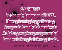 Ung Quote Inspiration Tagalog Love Quotes 48greetings