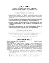 Sample Resume Auto Mechanic 9 10 Resumes For Automotive Technicians Juliasrestaurantnj Com
