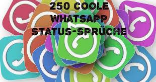 250 Lustige Coole Whatsapp Status Sprüche Freewarede
