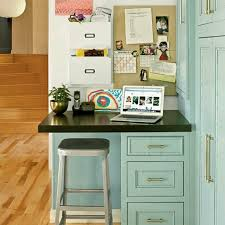small desk in kitchen mail sorting charging station charging station kitchen central office
