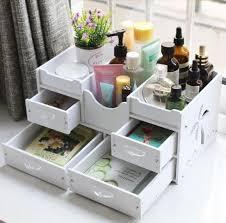 Home Decor Storage Box Makeup & Bathroom Organizer Tabletop Drawers