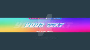 Youtube Channel Banners Banners For Youtube Template Business