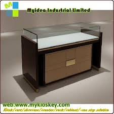 Standing Watch Display Case Luxury Style Design Watch Strap Display Case Showcase Furniture 21