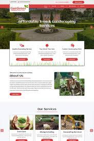 landscaping templates free landscape design psd templates