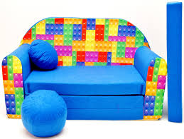 Furniture Home PGP 4 KIDS Childrens Sofa Bed Fold Out Sofa Foam