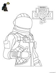 25 Fortnite Black And White Coloring Pages Colinbookman