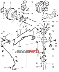 Saab vacuum diagram with photos large size