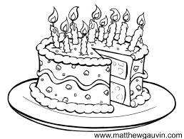 Birthday Drawings Mg Childrens Book Illustrations Birthday Cake