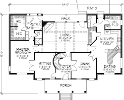 Best Historic Plantation House Plans Three Storey Photo        Plantation House Southern Floor Plans Layout Design