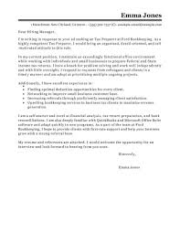 Free Tax Preparer Cover Letter Examples Templates From Our Writing