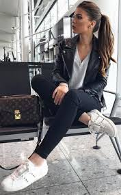 Cute winter women airport outfits ideas Plane 40 Outstanding Outfit Ideas For Stylish Women To Try This Spring Pinterest 771 Best Airport Outfits Images In 2019 Airport Style Stylish