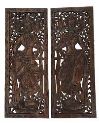 Archive for the 'bali wall decoration' category. Best Asian Wood Carved Wall Art Panels Unique Handmade Wall Decor Asiana Home Decor