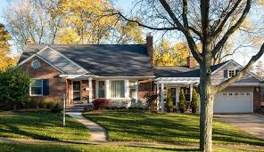 Ranch Home Curb Appeal Exterior Transitional With Parapet Hanging Ranch Curb Appeal