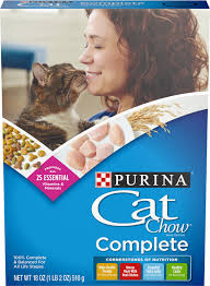 Cat Chow Complete Dry Cat Food 1 Lb Box