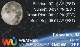 find more about weather in princeton nj