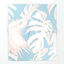 Blush Pink Throw Blanket