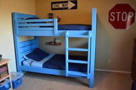 Built In Bunk Beds Ana White Side Street Bunk Beds With Modified Ladder Diy
