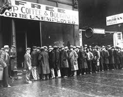 great depression timeline