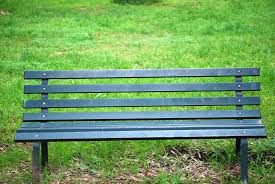 Green Park Bench Free Stock Photo - Public Domain Pictures