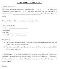 Catering Contract Template Gorgeous Catering Contract Template Uk Word Home Delivery Agreement Nerdcredco