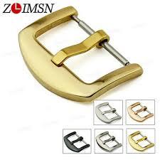 10Pcs <b>ZLIMSN Scrub Stainless Steel</b> Brushed Black Gold Watch ...