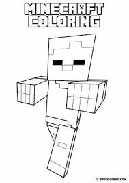 Small Picture 48 best MINECRAFT COLORING PICTURES images on Pinterest Drawing