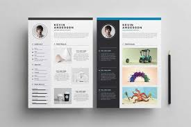 039 Creative And Professional Resume Cv Free Psd Template