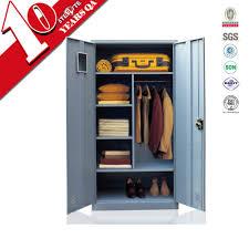 Locker Bedroom Furniture Double Door Military Locker Clothes Almirah Metal Bedroom