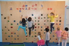 back pix kids rock climbing wall