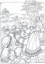 Kleurplaat Kerstfeest 8 11 Jaar Bijbels Opvoedennl