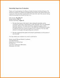 Thank You Letter For Internship Koziy Thelinebreaker Co
