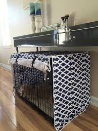 How to make a dog crate Pet Kennel Dog Crate Covers Navy Techslaminfo Very Fashionable Diy Dog Crate Covers Invisibleinkradio Home Decor