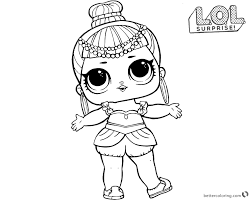 Coloring Book 34 Incredible Lol Surprise Dolls Coloring Coloring Books