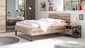 Bett 140x200 Jugendbett Roof Old Style Bettgestell Schlafzimmer