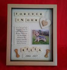 pet dog memorial picture frame keepsake personalised rainbow bridge box scrabble ebay