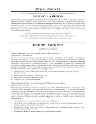 Sample Resume Recruiter Resume for Recruiter Position Sample Sidemcicek 1