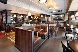 antique restaurant furniture. alime antique wooden restaurant bench seat furniture