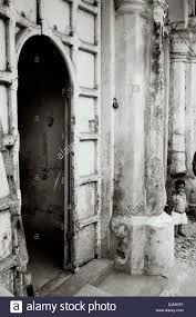 travel photography old door serving the e business in mattancherry in kochi cochin in kerala in india in south asia repore history doorway