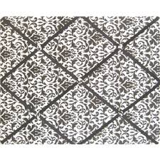 Damask Memo Board Black White Damask Cloth Memo Board 100100 redo your room 20