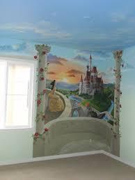 children s girls room mural